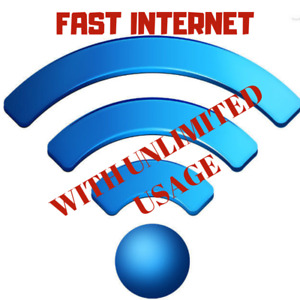 $48 High Speed Internet with unlimited usage & $250 Bill credit