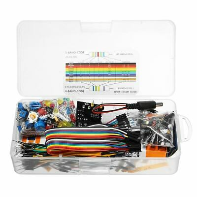 New Electronic Components Junior Starter Kits With Resistor Breadboard Power