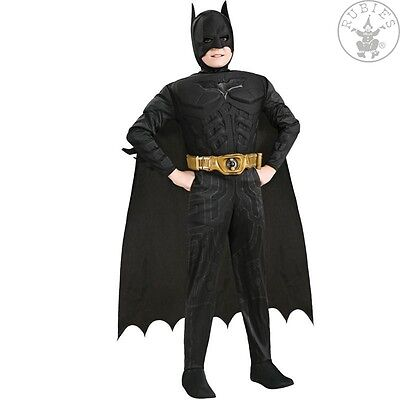 IAL Lizenz Kinder Jungen Kostüm Batman Deluxe Muscle Chest Größe 98 bis - Deluxe Kind Batman Kostüm