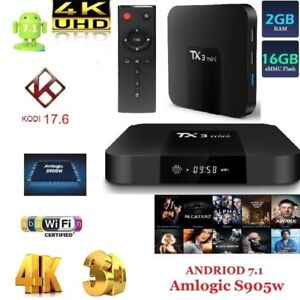 ★TX3 ANDROID BOX★Quad Core.★ 2 G + 16 G ★FREE MOVIES & SHOWS★