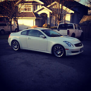 2007 Infiniti G35 Sport Coupe 6MT with navigation