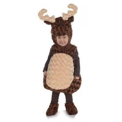 Underwraps Elch Bauch Babys Kleinkinder Kind Jungen Halloween Kostüm 25868