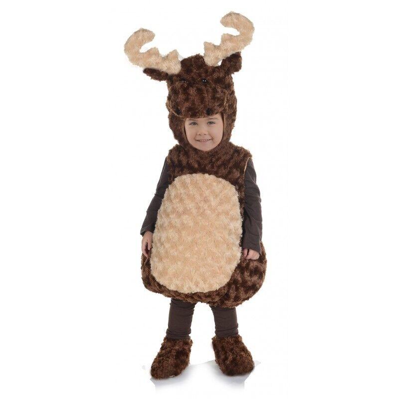 Underwraps Moose Belly Babies Toddler Child Boys Halloween Costume 25868