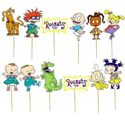 RUGRATS CAKE TOPPER TOPPERS CUPCAKE BALLOON SUPPLIES DECORATIONS - Rugrats Decorations