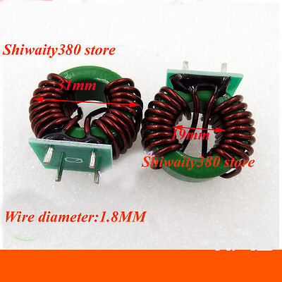 2pcs 20a 1.5mh Inductance Coil Inductor Core Magnetic Inverter Mn-zn Ferrite New
