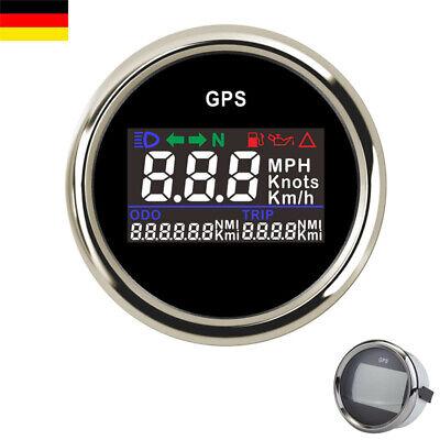 52mm Digital GPS Tachometer Tacho Boot Motorrad Kilometerzähler 9-32V Universal online kaufen