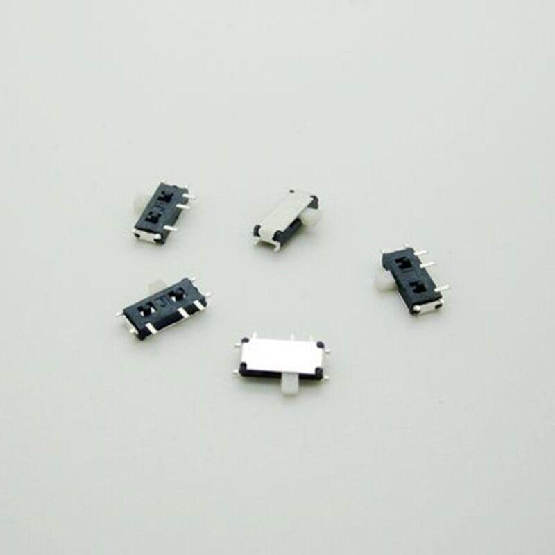 20PCS Mini SPDT 1P2T Slide Switch On-Off MSK-12C02 SMD 7P For MP3 MP4