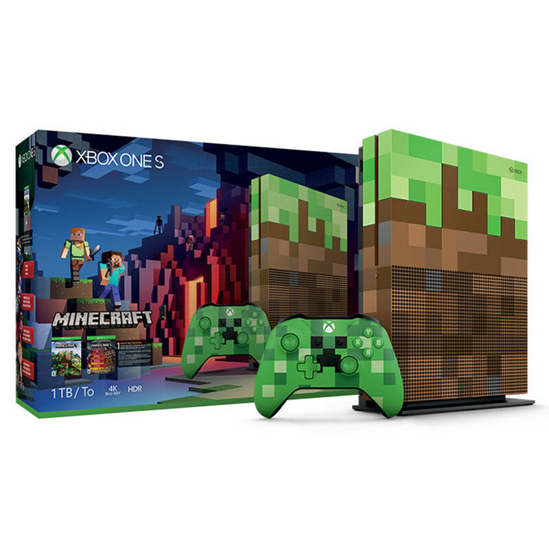 Microsoft Xbox One S 1TB Minecraft Limited Edition Bundle 23C-00001