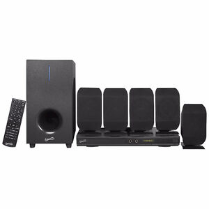 SuperSonic 540-Watt DVD Home Theater Sound System, New