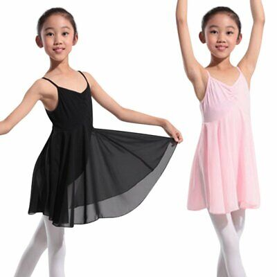 Kinder Mädchen Gymnastik Ballett Kleid Trikot Tutu Rock Party Dancewear (Kostüm Ballett Tutu)