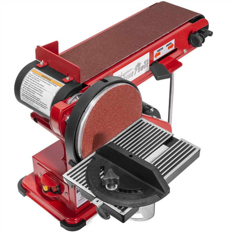 4 in. x 36 in. Belt with 6 in. Disc Sander Corded Benchtop W