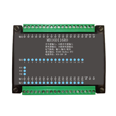 16 Channel Relay Output Data Acquisition Control Board Rs485 Modbus Module