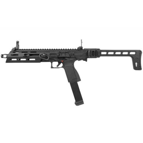 G&G SMC-9 GBB Green Gas Gas Blowback Airsoft Pistol Carbine Gun Black