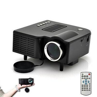 Mini Full HD 1080P LED Multimedia Projector Home Theater Cinema VGA HDMI USB SD