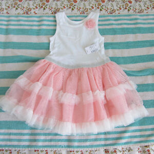 Brand new with tag, size 4 and 5 dress for toddler girl