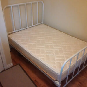 Antique steel double size bed