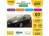 Ford Focus 1.6TDCi ( 115ps ) 2011.25MY Titanium FROM £25 PER WEEK!