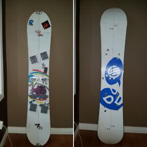 Self made split board 147
