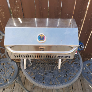 magma infared marine stainless steel barbeque and bag