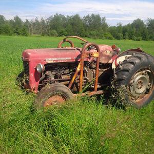 63 massey ferguson gas tractor