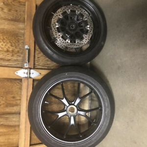 Ducati Original Wheels Rims with Tires Rotors