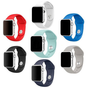 Apple watch band 42mm replacement silicone strap