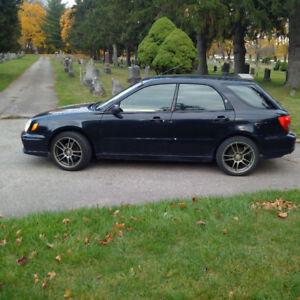 2002 Subaru Impreza 2.5 t/s Wagon Wagon
