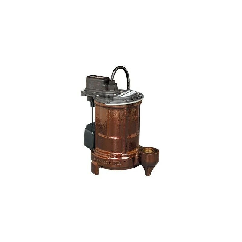 Liberty Pumps 257 N/A 1/3 HP Submersible Sump Pump with Vert