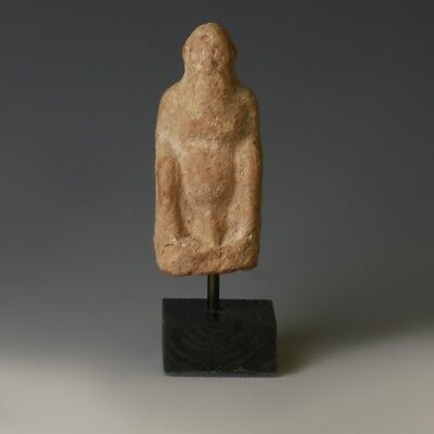 Hellenistic Terracotta of an Old Man