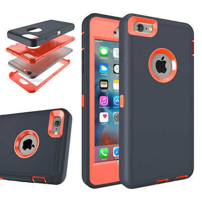 For Apple iPhone X XR 8P 7P 6P Unique Rugged Hybrid Rugger Hard Phone Case Cover