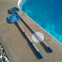 Pool Net Skimmer Net!!! 2 units --ONE is New!!!..WOWW!!!