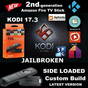 Amazon Fire Stick 2Gen✔️BEST ANDROID BOX✔️WOOKIE✔️KODI 17.3