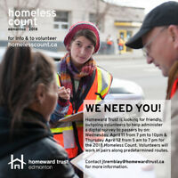 Homeless Count 2018 - April 11 & 12