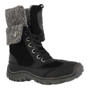 New Black Pajar Womens Boots size 8 - 8 1/2 NWT