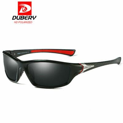 DUBERY Herren Sonnenbrille Polarisiert Brillen Sport UV400 Pilotenbrille Schwarz - Herren Brillen