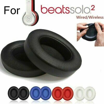 Ear Pad Cushion Replacement For Beats Dre Solo 2 Solo 3 Wireless / Wired Consumer Electronics