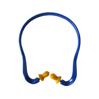 Soft Silicone Ear Plugs Protector Hearing Protection Noise Reducer Banded Muff ()