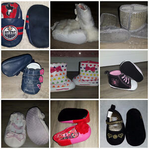 Baby shoes size 1-4 in new or EUC Condition
