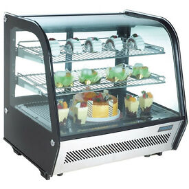 Polar CD229 120 Ltr Countertop Refrigerated Display Merchandiser