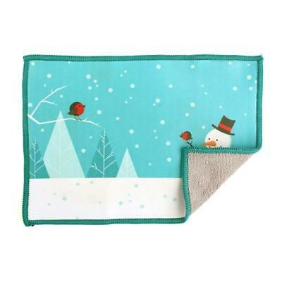 Smartie Microfiber Screen Cleaning Cloth for iPad, iPhone - Let it Snow, Man