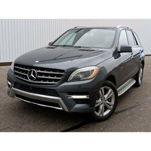 2015 Mercedes ML350 Bluetec No Accidents Fully Loaded!