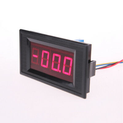 DC9V YB5135A Panel Mount 4-Wire Connect Red LED Display Voltmeter DC 200mV