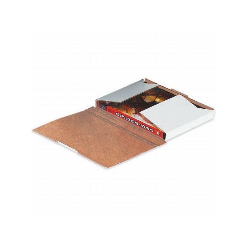 Box Packaging White DVD Mailer, 50/bundle