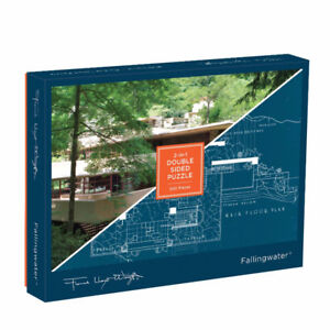 Fallingwater 2-sided 500 Piece Puzzle, brand new