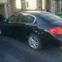 2013 infiniti G37x lease takeover - sweet deal