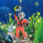 Aquarium Gebruik Zee Schat Diver Action Aquarium Ornament