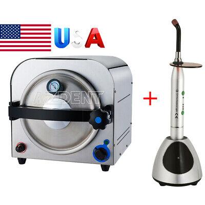 14l Dental Autoclave Steam Sterilizer Medical Sterilizition Curing Light Ys-c