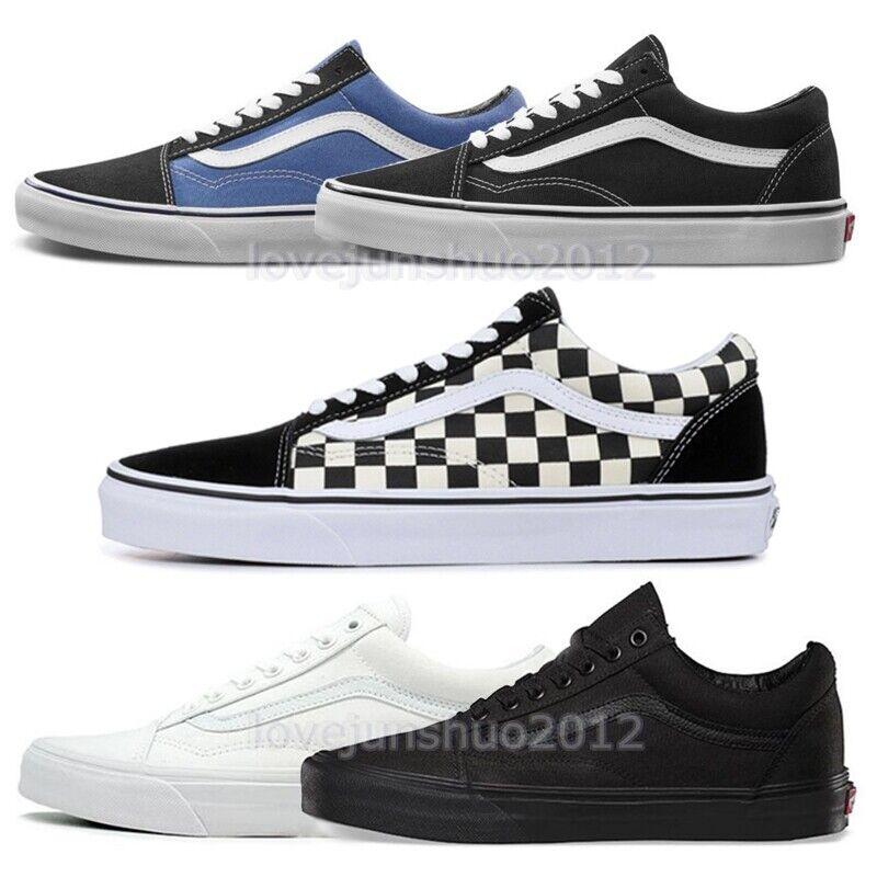 Neu Van Old Skool Herren Damen Sneaker Schuhe Turnschuhe Skateschuhe Sportschuhe