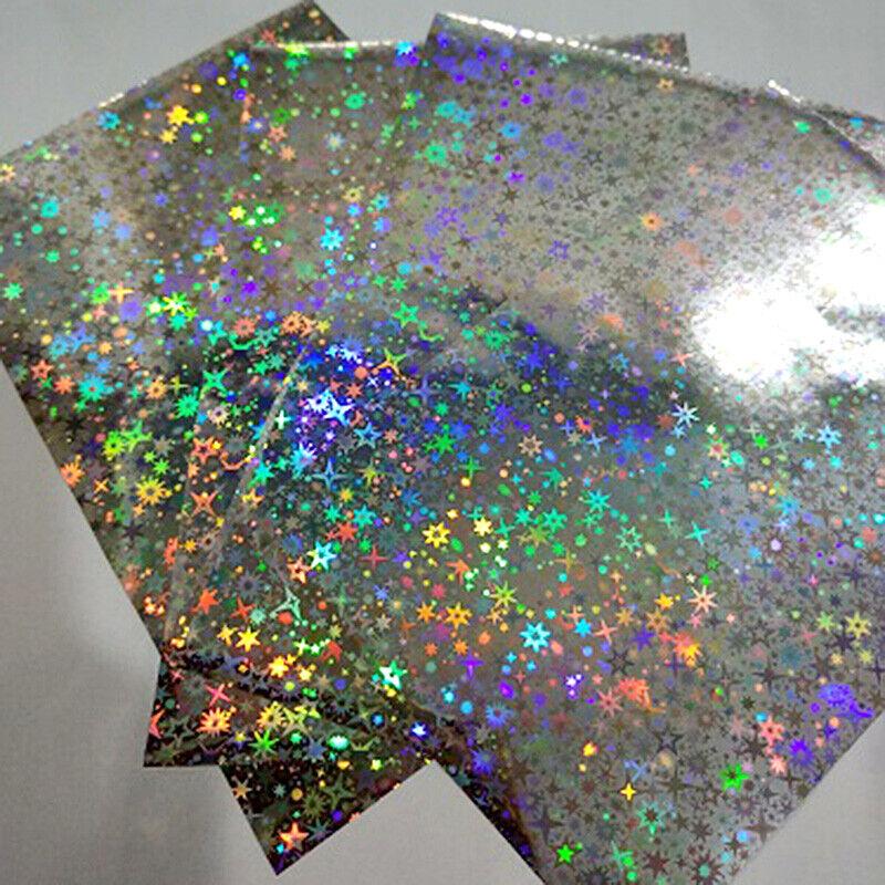 50x Hot Stamping Foil Paper Heat Transfer Laminating Craft for Laser Printer