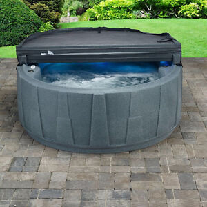 AquaRest Spas AR-200 4-Person 14-Jet Plug and Play Spa with LED